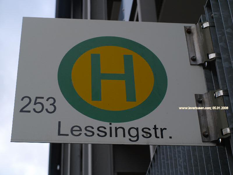 Bushaltestelle Lessingstr.
