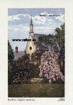 Reprint Ratiborer Schloßkapelle